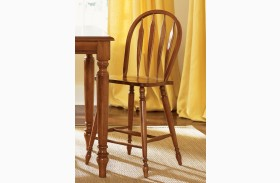 Low Country Bronze Barstool Set of 2