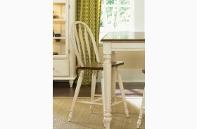 Low Country Sand Barstool Set of 2