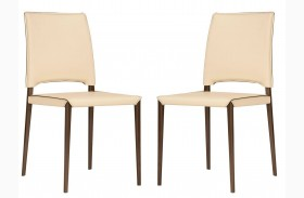 Ritz Lola Cream Chair Set of 2