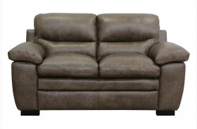 Tatum Italian Leather Loveseat