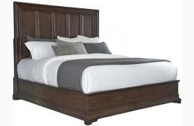 Lindale Brown Panel Bed