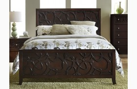 Links Chocolate Panel Bed