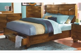 North Shore Acorn Storage Bed