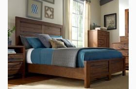 Navigator Poplar Panel Bed