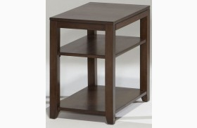 Daytona Regal Walnut Finish Chairside Table