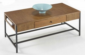 Viero Place Light Qui Veneer Finish Cocktail Table