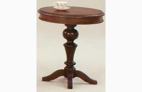 Mountain Manor Heritage Cherry Finish Chairside Table