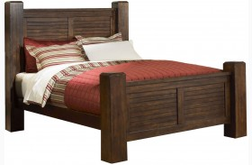 Trestlewood Mesquite Pine Poster Bed