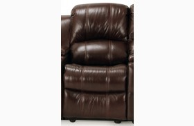 Poseidon Cocoa Power Armless Recliner