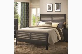 Richmond Slat Panel Bed