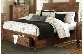 River Ridge Island Storage Bed