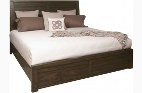 Ruff Hewn Brown Panel Bed