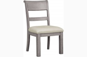 Prospect Hill Gray Dining Side Chair Set of 2