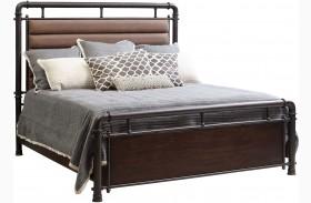 Fulton St. Brown Metal Bed