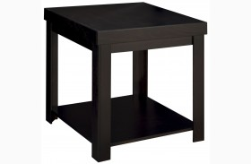 Skyline Mocha Finish End Table