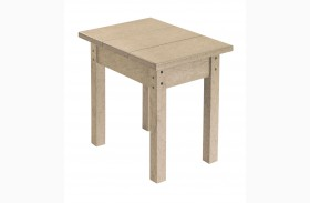 Generations Beige Side Table
