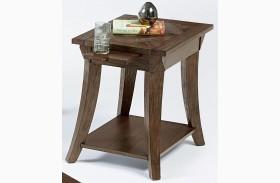 Appeal l Dark Poplar Finish Chairside Table
