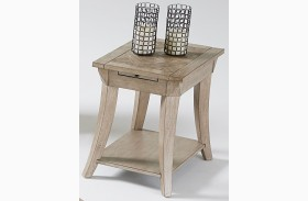 Appeal ll Dark Poplar Finish Chairside Table