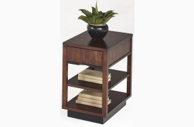 Sophisticate Prima Vera Finish Chairside Table