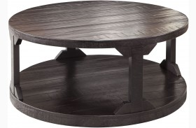 Rogness Rustic Brown Cocktail Table