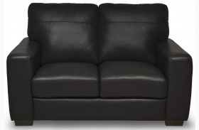 Timothy Italian Leather Loveseat