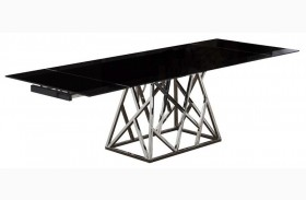 Twist Extendable Rectangular Dining Table