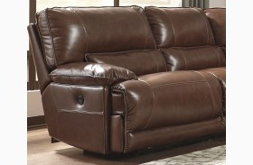 Kalel Saddle Finish LAF Zero Wall Recliner