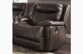 Zaiden Antique Finish RAF Zero Wall Recliner