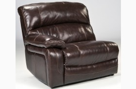 Damacio Dark Zero Wall Power Recliner