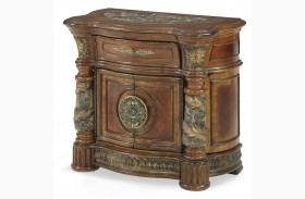 Villa Valencia Chestnut Bedside Chest