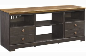Maxington Two-tone Finish LG TV Stand
