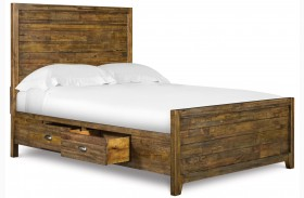 Braxton Youth Storage Panel Bed