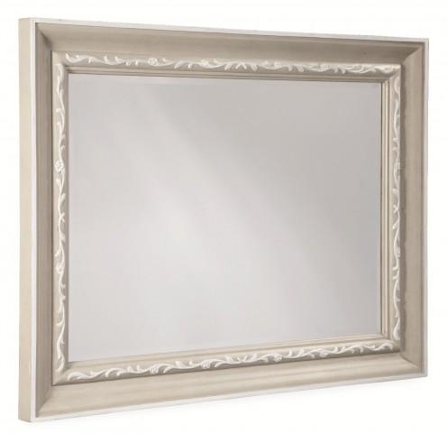 Chateaux Grey Landscape Mirror