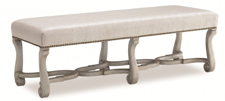 Chateaux Grey Bench