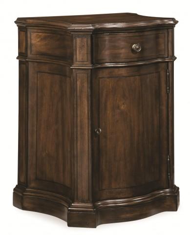 Chateaux Walnut Door Nightstand