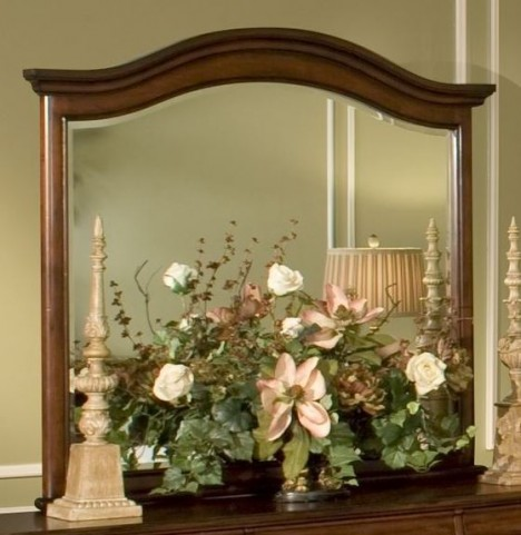 Whitley Court Tobacco Landscape Mirror