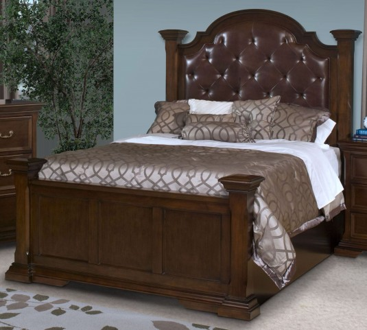 Timber City Sable Queen Upholstered Bed