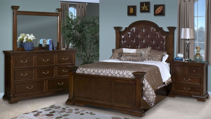 Timber City Sable Upholstered Bedroom Set