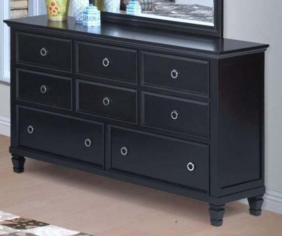 Tamarack Black Dresser