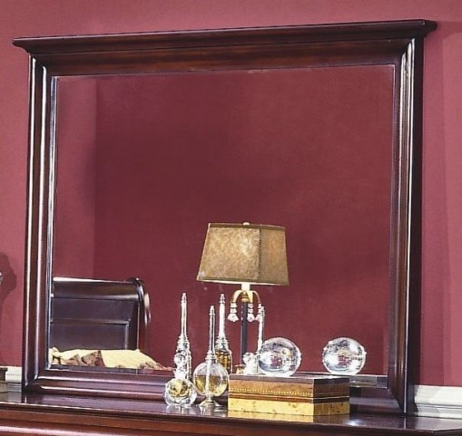 Versaille Bordeaux Landscape Mirror