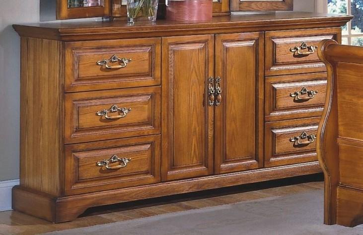Honey Creek Caramel 6 Drawer Dresser