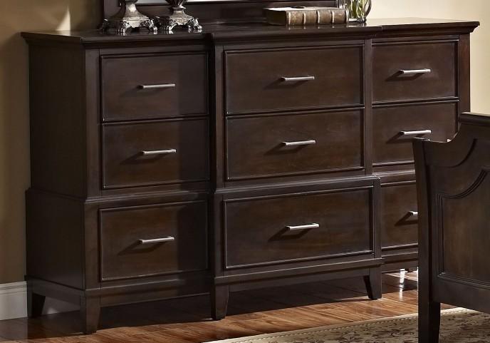 Highland Park Distressed Walnut Dresser