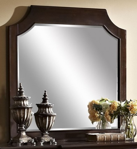 Highland Park Distressed Walnut Mirror