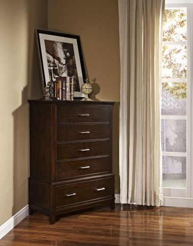 Highland Park Distressed Walnut Chest