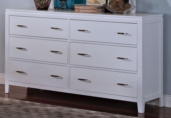 Selena White Dresser