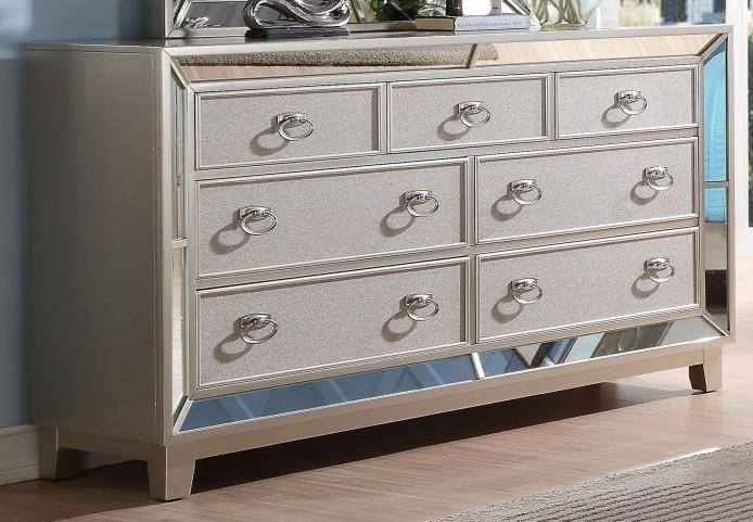 Stefano Silver Dresser