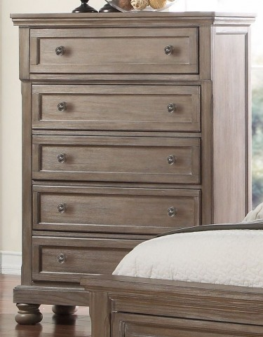 Allegra Pewter Chest