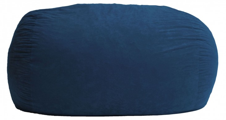 Big Joe XL Fuf Blue Sky Suede Comfort Bean Bag