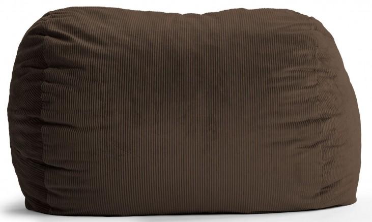 Big Joe XXL Fuf Chocolate Wide Wale Corduroy Bean Bag