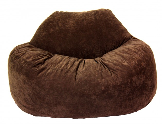 Big Joe Chillum Espresso Comfort Suede Loveseat